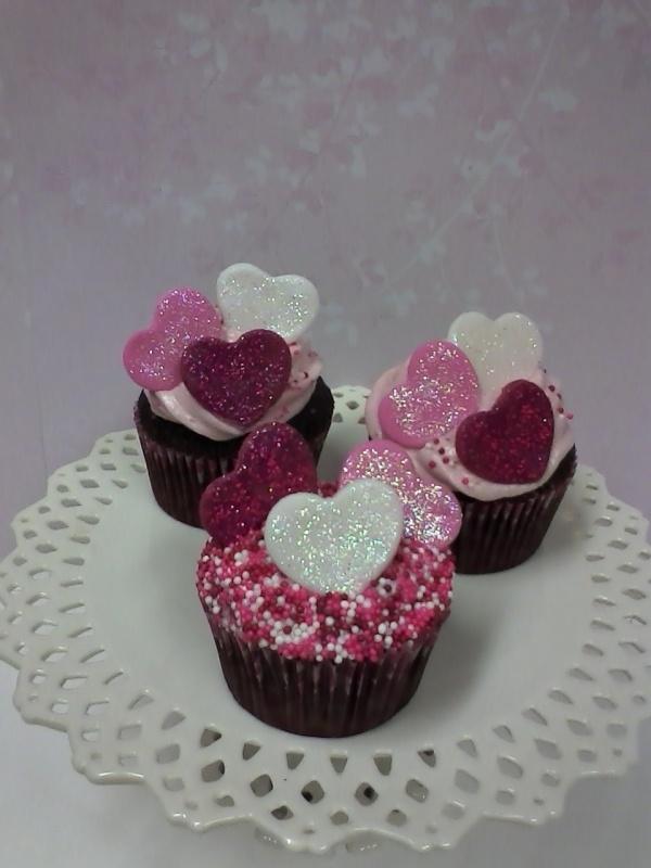 Butter Hearts Sugar Chocolate Cake