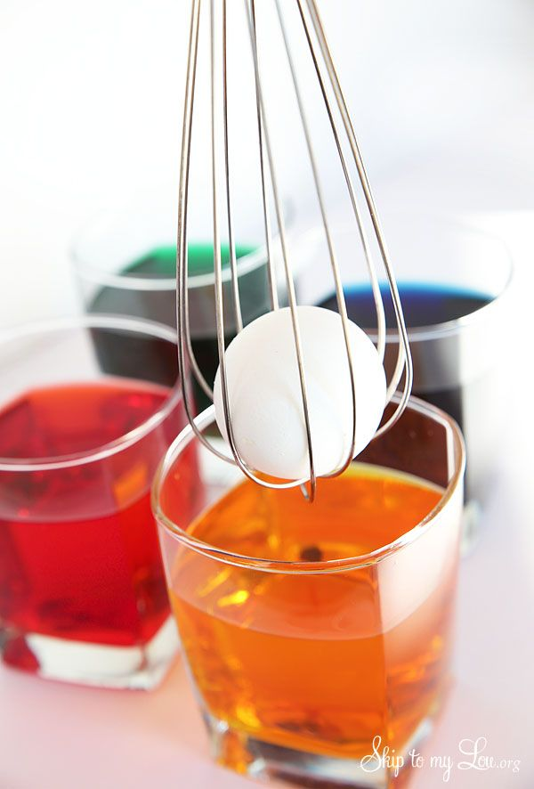 Clean and tidy way to dye your Easter eggs Decorating-Supplies.co.uk
