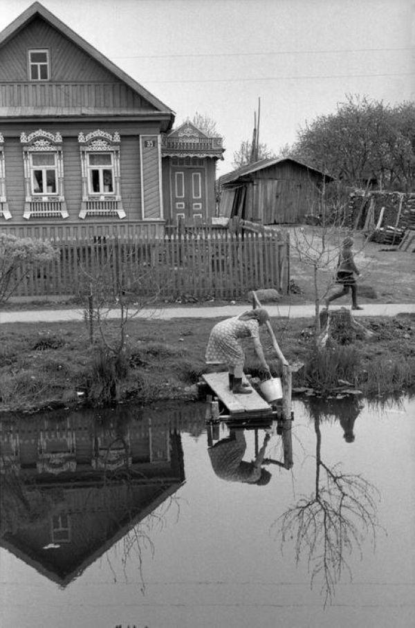 Henri Cartier-Bresson // SOVIET UNION. Russia. Yaroslavl. 1973. -The Sovkhoz of the New North.