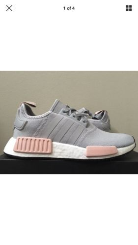 4720c927b Details about VNDS adidas NMD R1 Vapour Pink Light Onix Grey ...