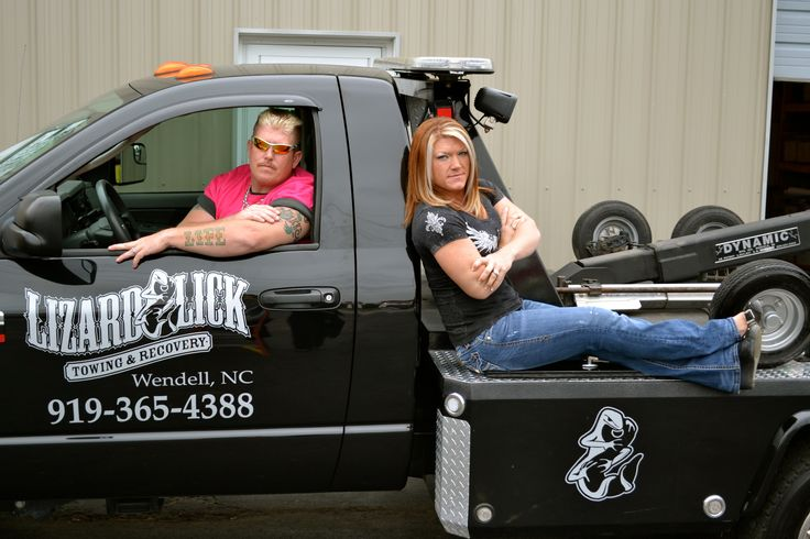 Ronnie and Amy Shirley | Lizard Lick Towing Ron and Amy Shirley