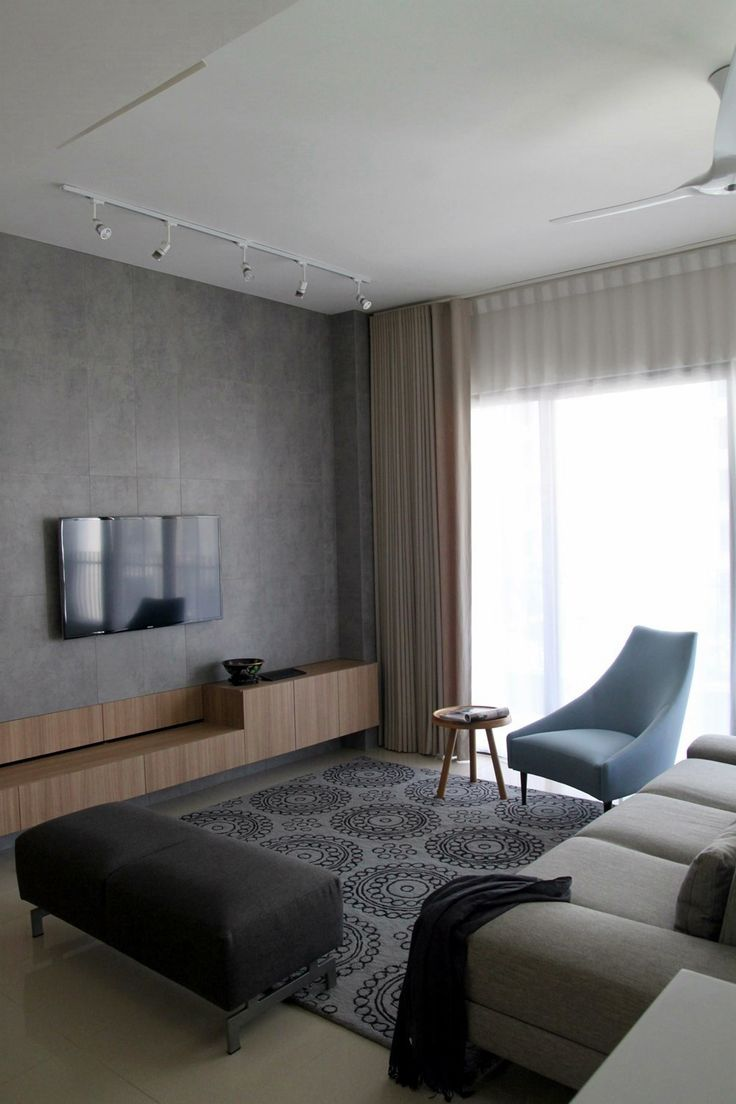 Lovely fine modern interior design style for this condominium home by paul pris