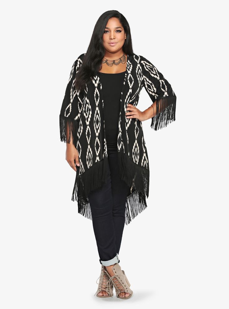 Hot and on trend: Kimonos!