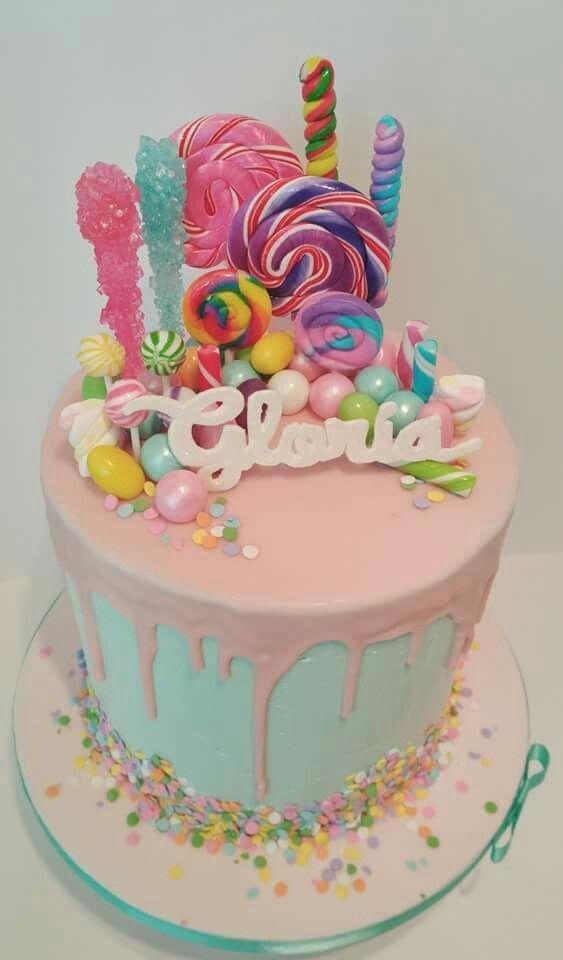 Small Candy Cake Geburtstagskuchen Und Torten Kuchen Geburtstag