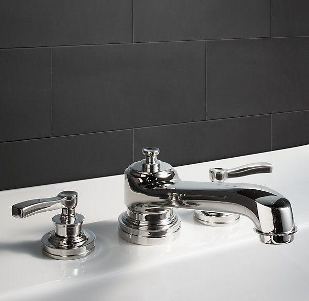 21 best for the home images on pinterest restoration for Restoration hardware bathroom faucets
