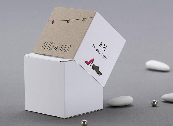 41 best Faire part mariage images on Pinterest Marriage, Wedding - Fabriquer Une Chambre Noire En Carton