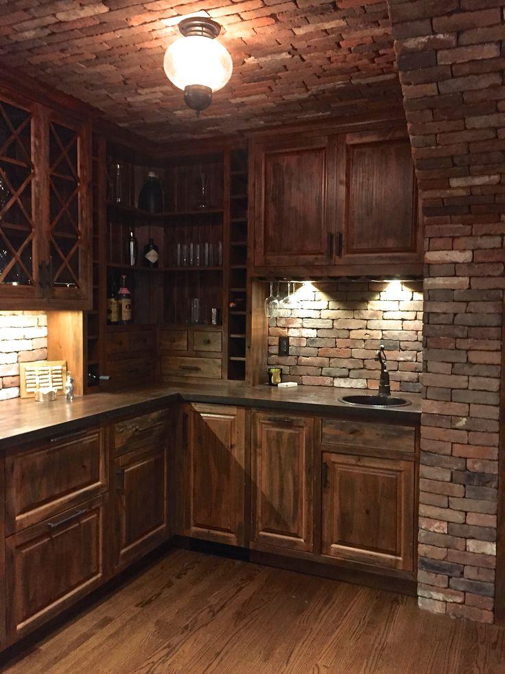 New England Blend Reclaimed Thin Brick Wall Veneer Makes