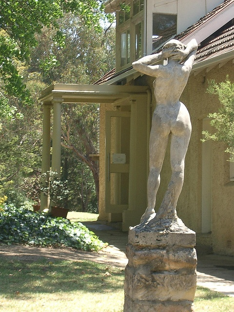 Statues at Norman Lindsay's House by paulm1977, via Flickr