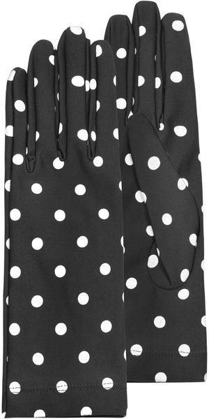 Polka dot Gloves would make great glamour shot photo shoot think its a great way to celebrate the next 1/2 of my life meant to be lived for me