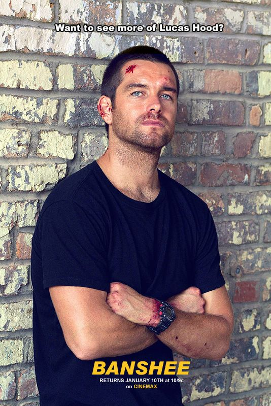 Antony Starr Online — Want to see more of Lucas Hood?   Mark your...