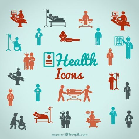 Iconos de salud | Descargar Vectores gratis