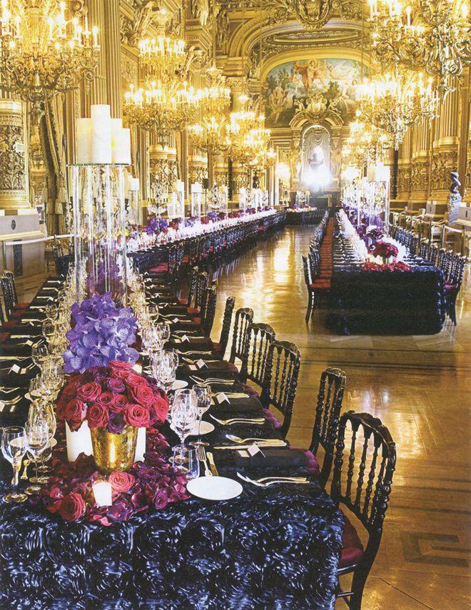 Long Table Decor.
