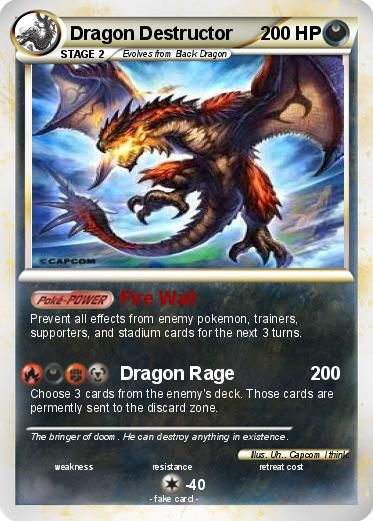 22 best fake pokemon cards images on pinterest - Carte pokemon dragon ...