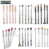 5PCS Harry Potter Cosmetic makeup brushes Wizards Magic Wand Make Up Brush Set