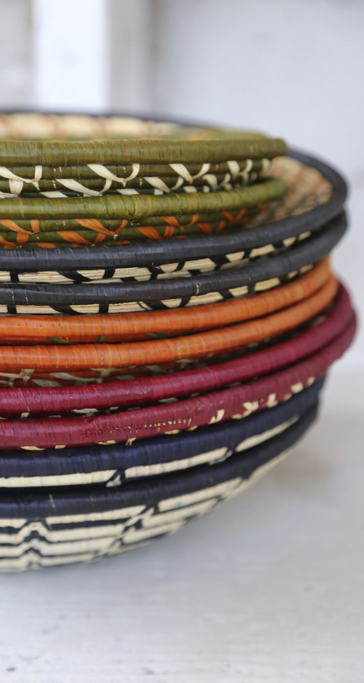 Fair Trade Baskets Handmade In Uganda Diy Basket Wall Ethical