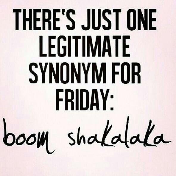 Hey Hey it's Friday