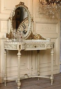 French Garden House   Vintage Louis XVI French Style Vanity81 best Victorian furniture images on Pinterest   Victorian  . Louis Style Bedroom Furniture. Home Design Ideas