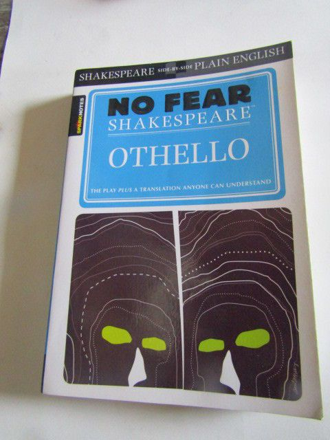 Othello (No Fear Shakespeare) by William Shakespeare Paperback Book   #StudyGuide