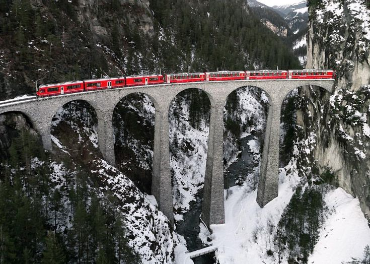 """174 Likes, 9 Comments - christopher smith (@_satellites_) on Instagram: """"The Bernina Express is allegedly one of the most scenic train rides in Europe. One thing I've…"""""""