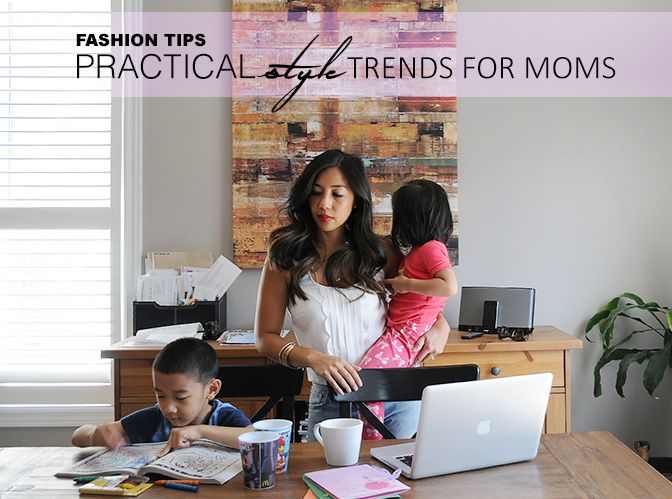 Young Mom Fashion Tips: Practical Style Guide For Busy Moms