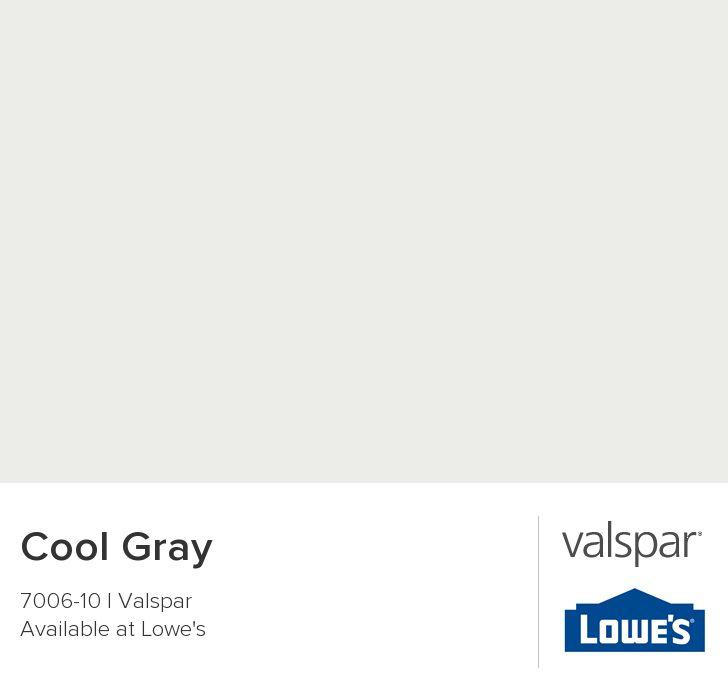 Cool Gray from Valspar