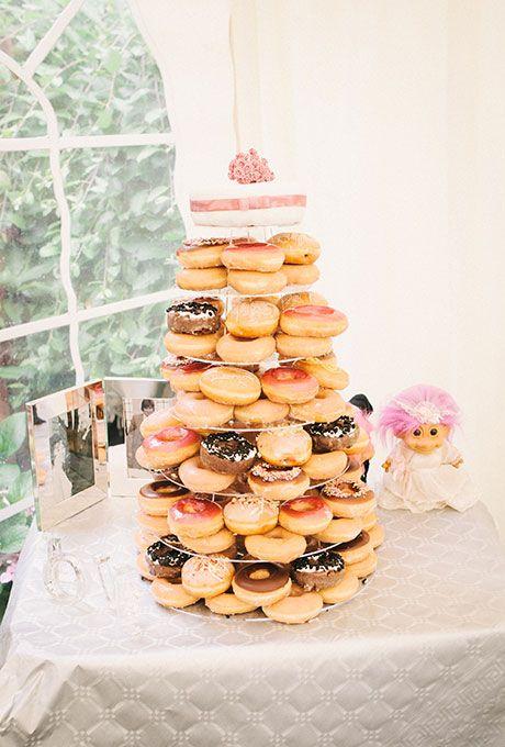 Best 25 Krispy kreme wedding cake ideas on Pinterest Wedding