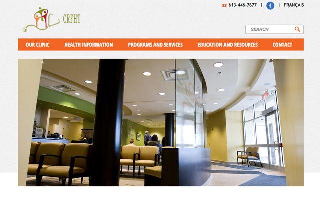 Clarence Rockland Family Health Team - www.crfht.ca #webdesign #gatineau #ottawa #websitedesign
