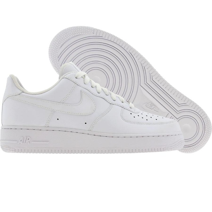 Nike Womens Air Force 1 07 Low (white / white) 315115-112 -