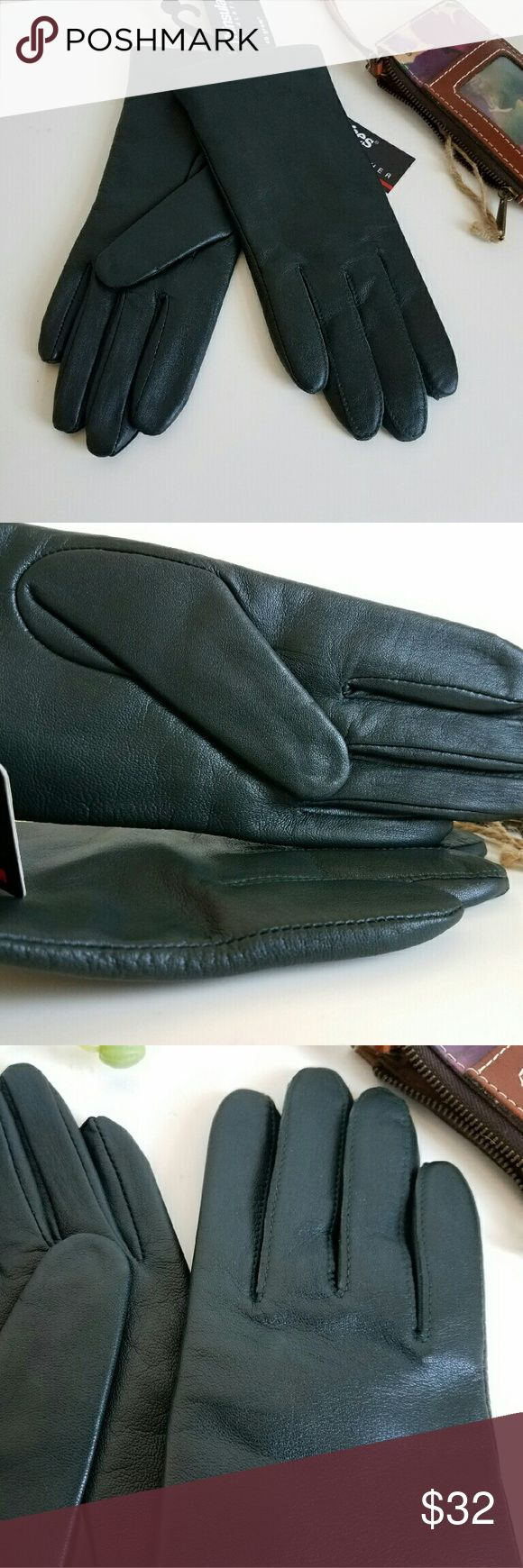 Womens leather gloves thinsulate lining - Women S Fownes Brothers Leather Gloves Size S Handcrafted From Supple Sheepskin For A Flexible Fit