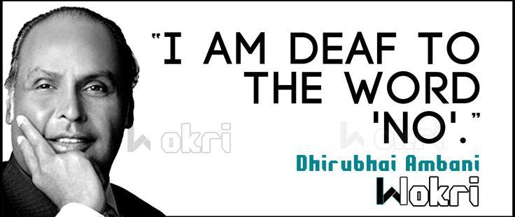 Top 15 quotes by Dhirubhai Ambani