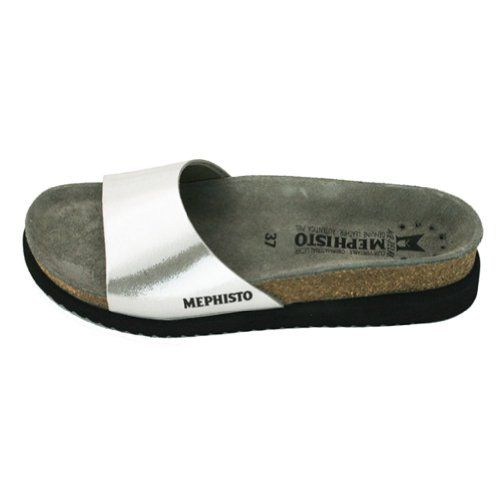 Mephisto Women's Hanka Na Walking Shoes,Silver Fiesta,5 M US Mephisto http: