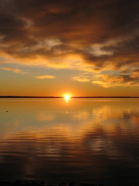 Sunset. Saskatchewan, Canada.