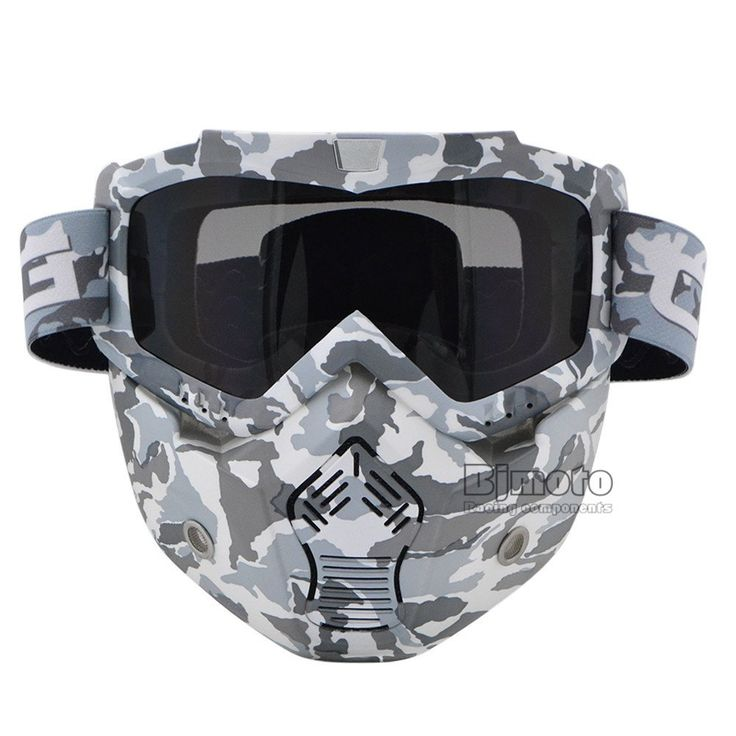 New Camouflage Ski Skate Motorcycle Goggle Motocross Goggles Helmet Glasses Windproof off Road Moto Cross Helmets Mask https://www.amazon.es/Motocross-máscara-desmontable-modular-Vintage/dp/B073PWCY9Y/ref=sr_1_19?s=sports