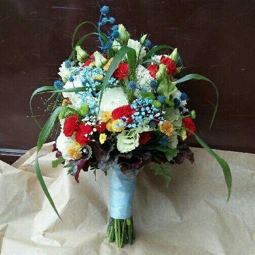 Wedding bouquet by Galeria Kwiatowa