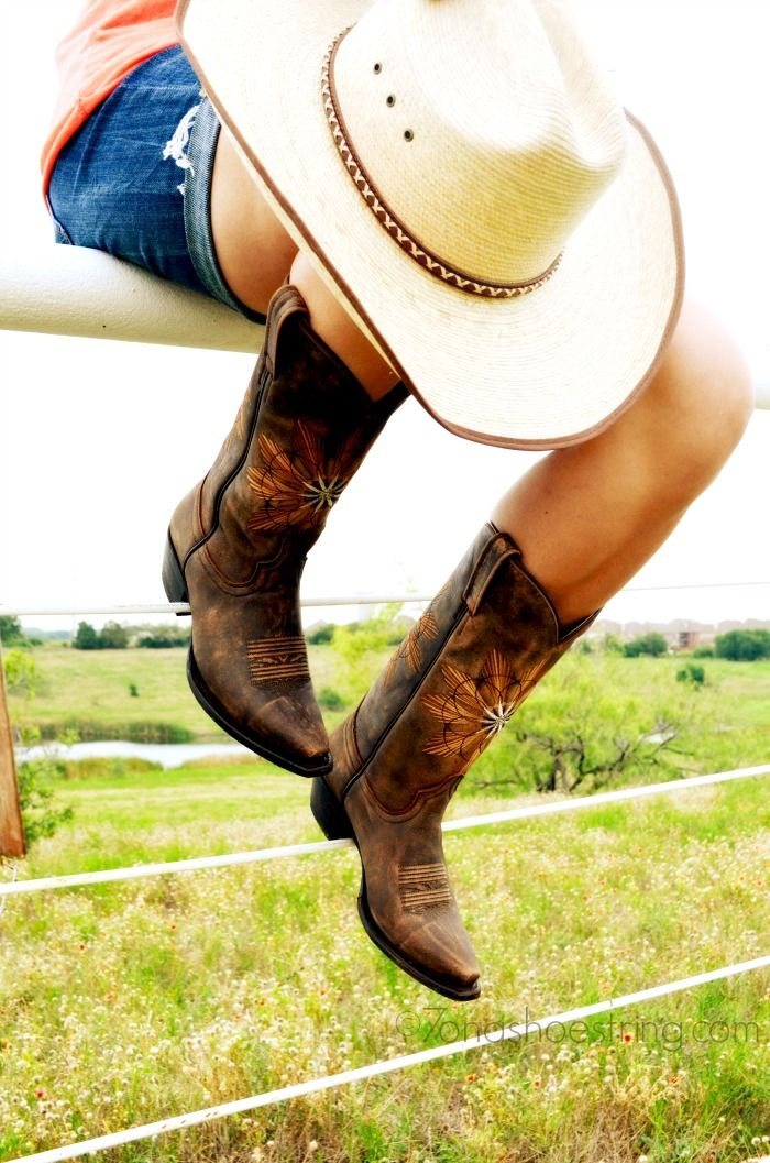 283 best images about Cowgirl Boot from Eagle Ages on Pinterest | Western boots Daisy dukes and ...