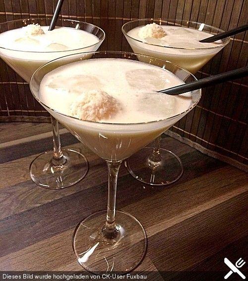 Raffaello - Cocktail, ein schönes Rezept aus der Kategorie Longdrink. Bewertungen: 7. Durchschnitt: Ø 4,1.
