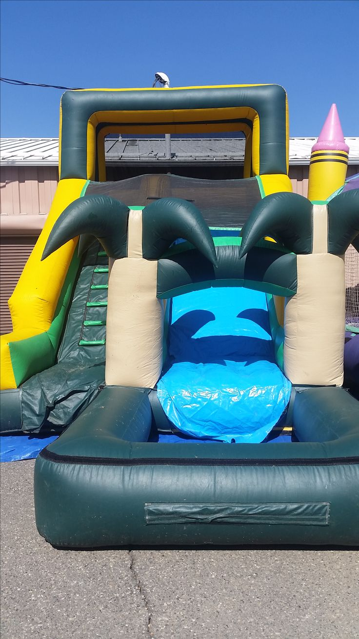 7 best large water slides for rent images on pinterest water