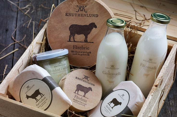 Danish dairy products from Knuthenlund