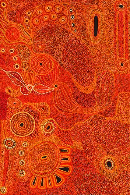 Maringka Tunkin ' 'Ngayuku ngura - My Country' | Work: acylic on linen, 152 x 102 cm, Art Centre: Tjala Arts, Community: Amata, Region: APY Lands, Price: $AUD 2,100 (on reserve)