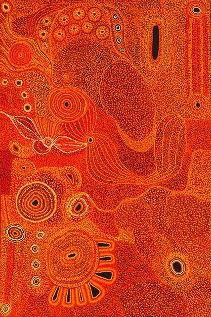 Maringka Tunkin ' 'Ngayuku ngura - My Country'   Work: acylic on linen, 152 x 102 cm, Art Centre: Tjala Arts, Community: Amata, Region: APY Lands, Price: $AUD 2,100 (on reserve)