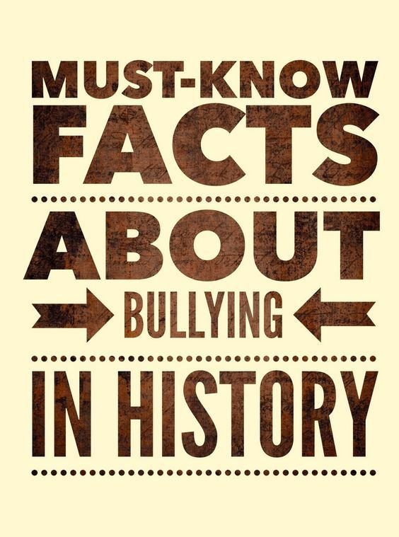 Did You Know these Five Facts about Bullying in History?: These must-know bullying facts about bullying in history are a great way to help prevent the mistakes of the past and learn better ways to stop bullying in the future