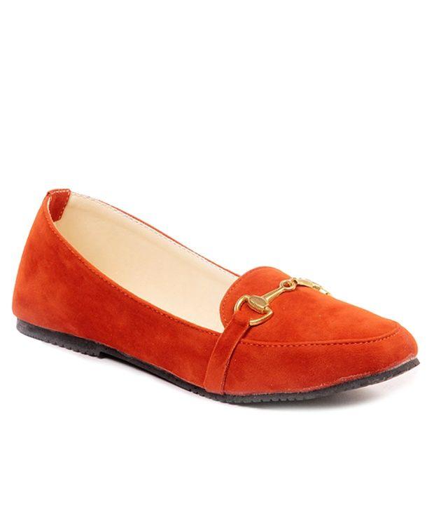 Ten Decent Orange Loafer, http://www.snapdeal.com/product/ten-decent-orange-loafer/704142819