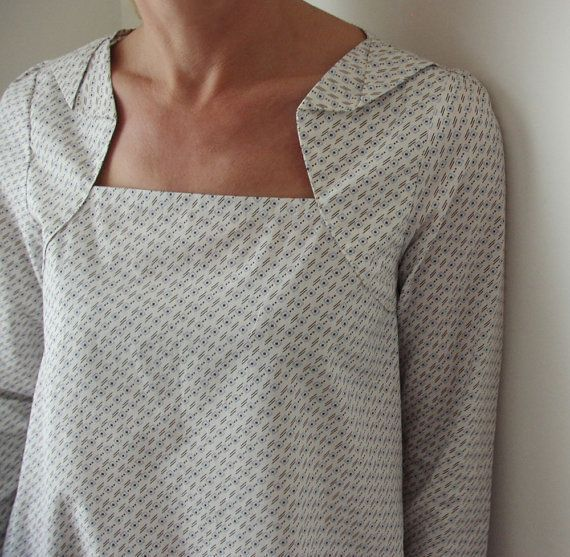 Love this neckline.