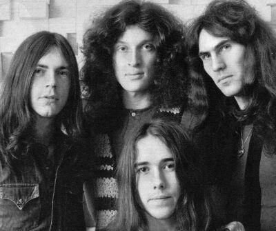 "Dutch band .. GOLDEN EARRING . . . one-hit wonder with the song .... .. . ............ . ""Radar Love"" ............ . George Kooymans .... Rinus Gerritsen ....... Hans van Herwerden ........ Fred Van der Hilst"