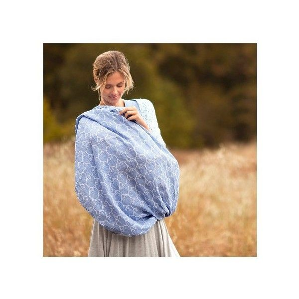 Bebe au Lait® Premium Muslin Nursing Scarf - Nightingale : Target ($30) ❤ liked on Polyvore featuring accessories, scarves and bebe