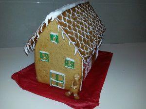 Χριστουγεννιάτικα Μπισκοτοσπιτάκια (Μπισκοτένια Σπιτάκια)