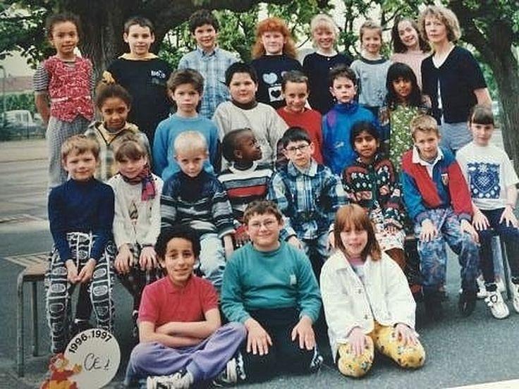 Photo de classe CE1 de 1996, ECOLE PAUL BERT