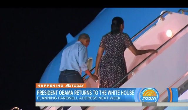 First Family Obama's #Returned from #Hawaii Monday January 2, 2017 President Obama announces Chicago #FAREWELL #ADDRESS #SCHEDULE #TUESDAY #JANUARY10th #2017 In His #HomeTown #Chicago #44th #President #POTUS Of The United States 🇺🇸 Of America #CommanderInChief #BarackObama #FirstLady #FLOTUS Of The United States 🇺🇸 Of America #MichelleObama #FirstDaughters Of The United States 🇺🇸 #MaliaObama #SashaObama #TheWhiteHouse #WhiteHouse #FirstFamilyObamas #FirstFamily #Obamas #Obama
