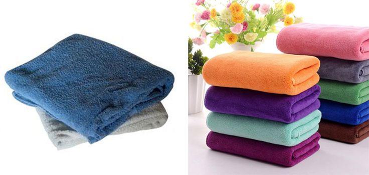 Bantu Riset dong enak mana si handuk katun kasar ga menyerap atau pakai handuk microfiber tekstur lembut berdaya serap tinggi ?