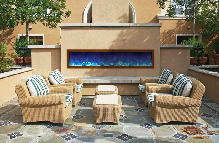 25 best Outdoor Electric Fireplaces images on Pinterest